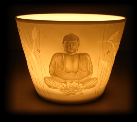 Motiv Licht Buddha